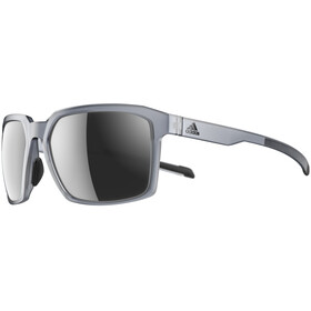 adidas Evolver Glasses grey transparent/chrome